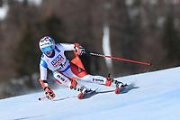 18th February 2021; Cortina d'Ampezzo, Italy;  FIS Alpine World Ski Championships 2021 Cortina  Women's Giant Slalom, Michelle Gisin (SUI)