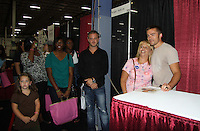 One Life To Live John-Paul Lavoisier with fans at the 8th Annual Connecticut Women's Expo presented by Comcast on September 11 & 12, 2010 at the Connecticut Expo Center, Hartford, Connecticut. (Photo by Sue Coflin/Max Photos)