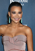 13 July 2020 - Naya Rivera, the actress best known for playing cheerleader Santana Lopez on Glee, has been confirmed dead. Rivera, 33, is believed to have drowned while swimming in the lake with her 4-year-old son, who was found asleep on their rental pontoon boat after it was overdue for return. 20 April 2013 - Los Angeles, California - Naya Rivera. 24th Annual GLAAD Media Awards held at JW Marriott LA LIVE. Photo Credit: Russ Elliot/AdMedia