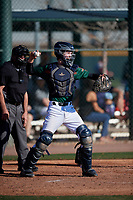 Gehrig Christensen during the Under Armour All-America Tournament powered by Baseball Factory on January 18, 2020 at Sloan Park in Mesa, Arizona.  (Mike Janes/Four Seam Images)
