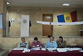 Voting station in  Chisinau, Republic of Moldova.  / Präsidentenwahl in der Republik Moldau am 30.10.2016 in Chisinau