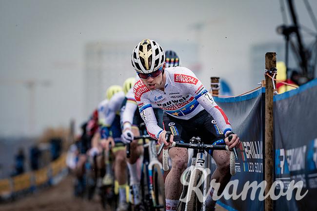 European CX Champion Eli Iserbyt (BEL/Pauwels Sauzen-Bingoal)<br /> <br /> 2020 Scheldecross Antwerp (BEL)<br /> <br /> ©kramon