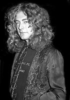 Robert Plant 1980s, Photo By John Barrett/PHOTOlink