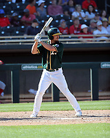 Jeremy Eierman - Oakland Athletics 2020 spring training (Bill Mitchell)