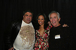 """General Hospital's and One Life To Live's Vincent Pastore (Sopranos) - One Life To Live's Daphnee Duplaix """"Rachel""""- General Hospital's Bruce Weitz """"Anthony Zachara"""" appear at Big Apple Comic Con for autographs and photos on October 16 (and 17 & 18), 2009 at Pier 94, New York City, New York. (Photo by Sue Coflin/Max Photos)"""