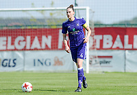 20180501 - TUBIZE , BELGIUM : Anderlecht's Heleen Jaquespictured during a womensoccer game between  RSC Anderlecht Dames and KRC Genk Ladies , during play-off 1 , at the Euro 2000 Center in Tubize , tuesday 1 st May 2018 . PHOTO SPORTPIX.BE | DAVID CATRY
