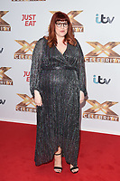 """LONDON, UK. October 09, 2019: Jenny Ryan at the photocall for """"The X Factor: Celebrity"""", London.<br /> Picture: Steve Vas/Featureflash"""