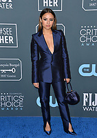 SANTA MONICA, USA. January 12, 2020: Aimee Carrero at the 25th Annual Critics' Choice Awards at the Barker Hangar, Santa Monica.<br /> Picture: Paul Smith/Featureflash