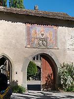 Kloster zum heiligen Georg, Stein am Rhein, Kanton Schaffhausen, Schweiz<br /> Saint George's Abbey in Stein am Rhein, Canton Schaffhausen, Switzerland