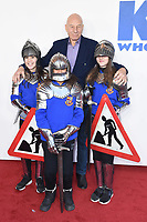 """Sir Patrick Stewart<br /> arriving for the premiere of """"The Kiid who would be King"""" at the Odeon Luxe cinema, Leicester Square, London<br /> <br /> ©Ash Knotek  D3476  03/02/2019"""