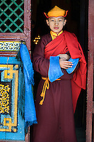 Ulaanbaatar, Mongolia 2006. Monks at Gesar Sum Monastery