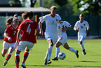 European Women's Under - 19 Championship 2011 Italy :.Switzerland - Belgium U19 :  Justine Vanhaevermaet.foto DAVID CATRY / VROUWENTEAM.BE