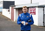 Arbroath v St Johnstone…15.08.21  Gayfield Park      Premier Sports Cup<br />Liam Craig arrives ahead of today's match<br />Picture by Graeme Hart.<br />Copyright Perthshire Picture Agency<br />Tel: 01738 623350  Mobile: 07990 594431