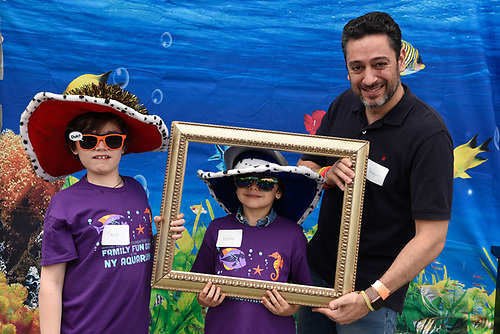 New York Acquarium Photo Booth<br /> Making Headway Foundation<br /> Father's Day<br /> Family Fun Picnic