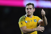 Bernard Foley of Australia during the Semi Final of the Rugby World Cup 2015 between Argentina and Australia - 25/10/2015 - Twickenham Stadium, London<br /> Mandatory Credit: Rob Munro/Stewart Communications