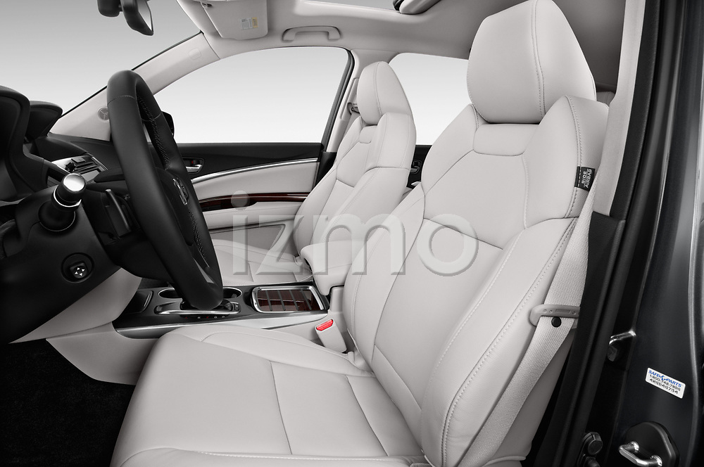 Front seat view of 2014-2016 Acura MDX Technology 5 Door SUV front seat car photos