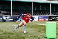 London Scottish run tackle drills during the Greene King IPA Championship match between Ealing Trailfinders and London Scottish Football Club at Castle Bar , West Ealing , England  on 19 January 2019. Photo by Carlton Myrie/PRiME Media Images