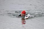 Tony Molloy finishes at the Green Buoy 1KM Swim in Clogherhead...(Photo credit should read Jenny Matthews/NEWSFILE)...