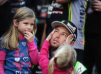Dec. 11, 2011; Chandler, AZ, USA;  LOORRS pro 2 driver Jeremy McGrath during the Lucas Oil Challenge Cup at Firebird International Raceway. Mandatory Credit: Mark J. Rebilas-
