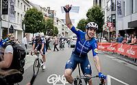 Álvaro José Hodeg (COL/Deceuninck - Quick Step) wins the Grote Prijs Marcel Kint 2021 (BEL)<br /> <br /> One day race from Zwevegem to Kortrijk (196km)<br /> <br /> ©kramon
