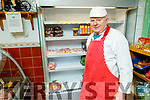 Dan Healy on his last day trading at his shop in Brendans Park, on Saturday.
