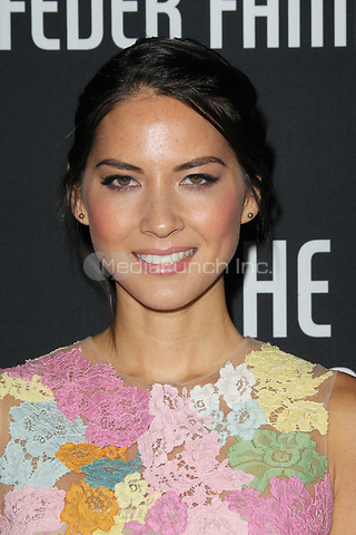 SANTA MONICA, CA - OCTOBER 27:  Olivia Munn at the 8th annual Pink Party hosted by Michelle Pfeiffer to benefit Cedars-Sinai Women's Cancer Program at HANGAR:8 on October 27, 2012 in Santa Monica, California. Credit: mpi21/MediaPunch Inc.
