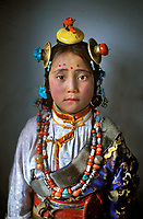 Kham,Tibet, 2008 . Tibet girl, Manigango, Kham, Tibet 2008.