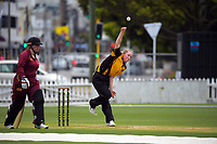 Action from the Joy Lamason One Day Wellington premier women's division one cricket match between Wellington Collegians and Upper Hutt at the Basin Reserve in Wellington, New Zealand on Sunday, 20 December 2020. Photo: Dave Lintott / lintottphoto.co.nz