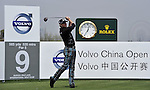 SUZHOU, CHINA - APRIL 16:  Jamie Donaldson of Wales tees off on the 9th green during the Round Two of the Volvo China Open on April 16, 2010 in Suzhou, China. Photo by Victor Fraile / The Power of Sport Images