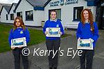 Students from Castleisland Community College 2021 graduation class. L to r: Shinora Riordan Wery, Siobhan O'Donoghue and Alannah Riordan Butler.