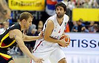 Milos Teodosic European championship group B basketball game between Serbia and Germany on 06. September 2015 in Berlin, Germany  (credit image & photo: Pedja Milosavljevic / STARSPORT)