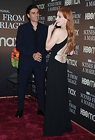 NEW YORK, NY- October 10: Oscar Isaac, Jessica Chastain at the HBOMAX premiere of Scenes From A Marriage at the Museum of Modern Art Titus Theatre in New York City on October 10, 2021 <br /> CAP/MPI/RW<br /> ©RW/MPI/Capital Pictures