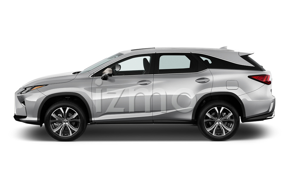 Car Driver side profile view of a 2019 Lexus RX 350L-4x2 5 Door SUV Side View
