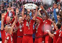 Claudio Pizarro FC Bayern Muenchen <br /> Monaco 23.05.2015, Allianz Arena<br /> Bundesliga Bayern Monaco Campione di Germania 2014/2015 <br /> Foto EXPA/ Eibner-Pressefoto/ Insidefoto