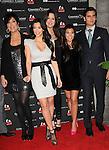 Kris Jenner,Kim Kardashian,Khloe Kardashian Odom, Kourtney Kardashian & Scott Disick at The Kardashian Charity Knock Out held at The Commerce Casino in Commerce, California on November 03,2009                                                                   Copyright 2009 DVS / RockinExposures