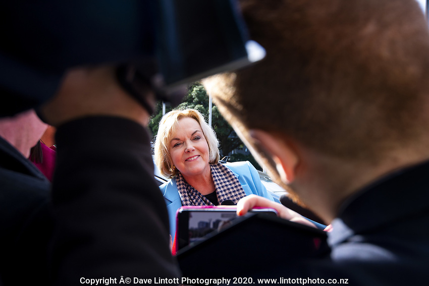 National MP Judith Collins at NZ Parliament Buildings in Wellington, New Zealand on Thursday, 4 July 2019. Photo: Dave Lintott / lintottphoto.co.nz