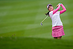 Yuting Shi of China in action during the Hyundai China Ladies Open 2014 Pro-am on December 10 2014, in Shenzhen, China. Photo by Xaume Olleros / Power Sport Images