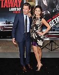 Ethan Hawke and Selena Gomez at The Warner Bros. Pictures L.A. Premiere of Getaway held at The Regency Village Theater in Westwood, California on August 26,2013                                                                   Copyright 2013 Hollywood Press Agency