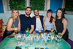 Enjoying the evening in Molly J's on Friday, l to r: Hillary Costello (Tralee). Daragh McGinley, Nateus Souza, Joan Walsh (Tralee) and Monika Micka.