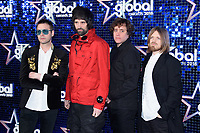Kasabian<br /> arriving for the Global Awards 2018 at the Apollo Hammersmith, London<br /> <br /> ©Ash Knotek  D3384  01/03/2018