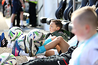 Sunday 02 April 2017<br /> Pictured: Children mascots<br /> Re: Swansea City v Middlesbrough, Premier League Match at the Liberty Stadium Swansea, Wales, UK