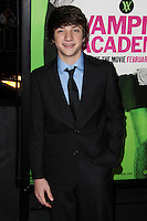 """LOS ANGELES, CA - FEBRUARY 04: Jake Short at the Los Angeles Premiere Of The Weinstein Company's """"Vampire Academy"""" held at Regal Cinemas L.A. Live on February 4, 2014 in Los Angeles, California. (Photo by Xavier Collin/Celebrity Monitor)"""