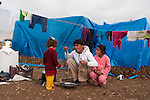 ARBAT, IRAQ: Syrian refugees cook in the Arbat refugee camp...45 families who have fled the violence in Syria are currently living in the Arbat refugee camp 19km outside the Iraqi city of Sulaimaniyah...Photo by Zmnako Ismael/Metrography