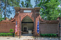 George Washington's tomb, Mt Vernon, Virginia, USA