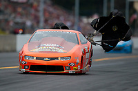Sep 13, 2019; Mohnton, PA, USA; NHRA pro stock driver Wally Stroupe during the Reading Nationals at Maple Grove Raceway. Mandatory Credit: Mark J. Rebilas-USA TODAY Sports