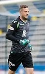 St Johnstone FC….Season 2019-20 <br />Elliot Parish<br />Picture by Graeme Hart. <br />Copyright Perthshire Picture Agency<br />Tel: 01738 623350  Mobile: 07990 594431