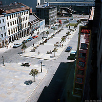Place Jacques-Cartier<br /> <br /> a Montreal en 1965