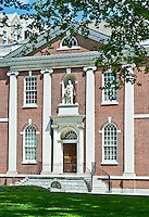 Library Hall, Philadelphia, PA, Reproduction (1954) of the original (1789). The Library Company, founded by Ben Franklin  was the forerunner of the Library of Congress