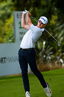 Tyler Hodge. Day one of the Brian Green Property Group NZ Super 6s Manawatu at Manawatu Golf Club in Palmerston North, New Zealand on Thursday, 25 February 2021. Photo: Dave Lintott / lintottphoto.co.nz