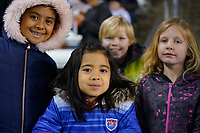 HOUSTON, TX - JANUARY 31: USA fans during a game between Panama and USWNT at BBVA Stadium on January 31, 2020 in Houston, Texas.